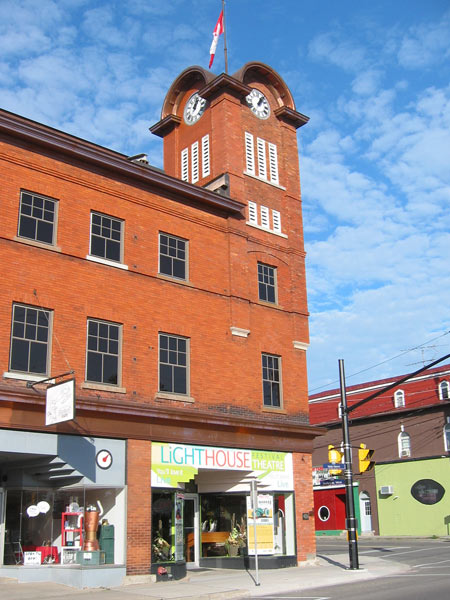 Town clock tower Port Dover.