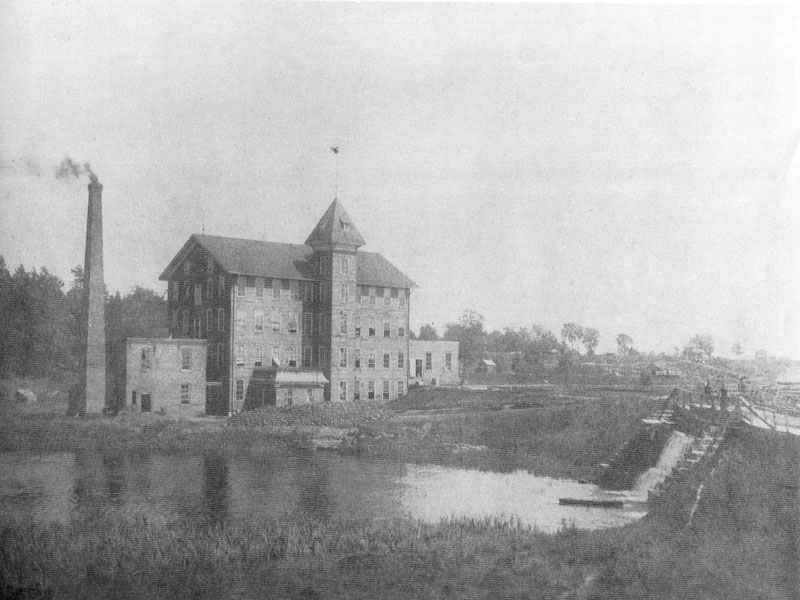 Penman's Mill, Port Dover 1908.