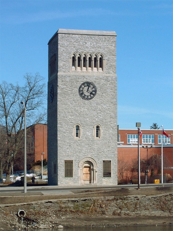 Simcoe Carillon Tower.