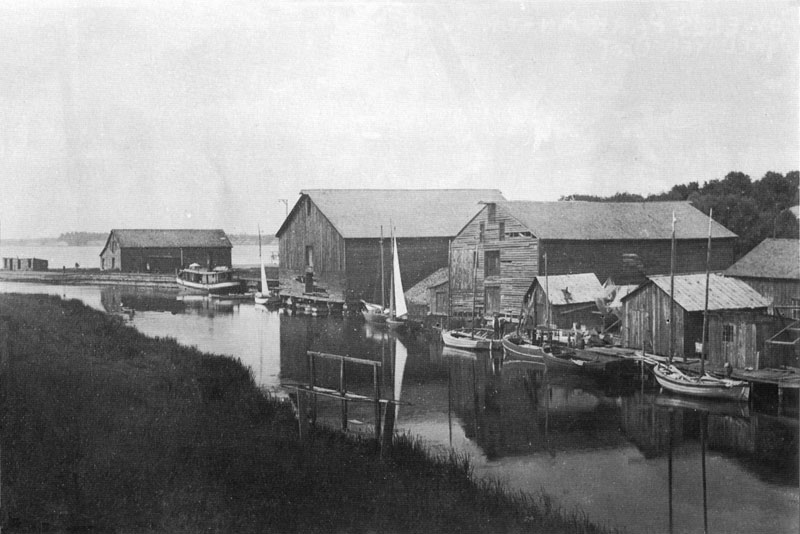 Port Dover Harbour 1892
