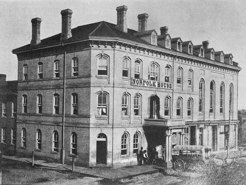 Norfolk House, Norfolk St., Simcoe,