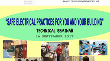 Technical Seminar - SAFE ELECTRICAL PRACTICES FOR YOU AND YOUR BUILDING