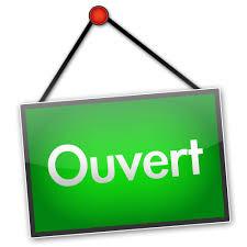 OUVERTS À L'ANNÉE DE 10h à 18h !