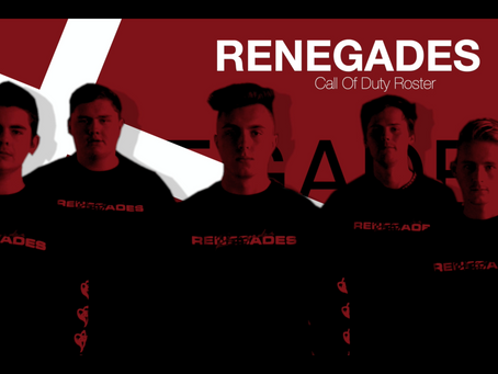 RENEGADES OFFICIAL ROSTER: CALL OF DUTY