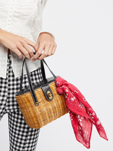 Shop Straw Bags: The Season's Must-Have Accessory