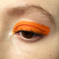 Cop This Orange Eye For Summertime Now With Only Two Products