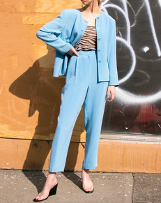 Add A Pop Of Blue To Your Wardrobe This Spring