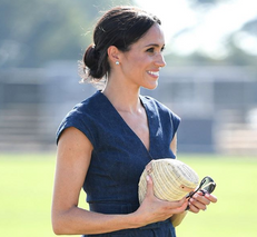 Let Meghan Markle Inspire Your Denim Dress Style This Summer