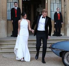 We're Still Not Over The #RoyalWedding: Shop Meghan's Reception Dress Look
