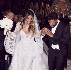 Channel Ciara's Wedding Day Style When Wearing White After Labor Day