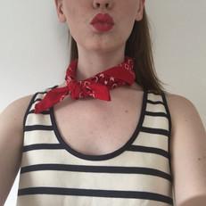 The Summer Staples: Bandanas & Stripes