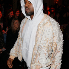 Get Yeezy's FROW Style With An Embellished Jacket