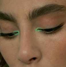 Copy This Green Makeup Look