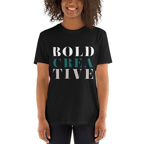 BOLD CREATIVE Short-Sleeve Unisex T-Shirt