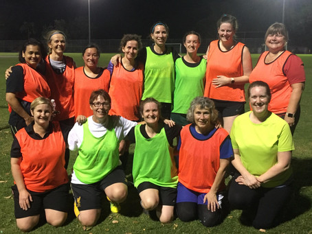 Women's Over 30 Thursday Summer Sessions 2018/19