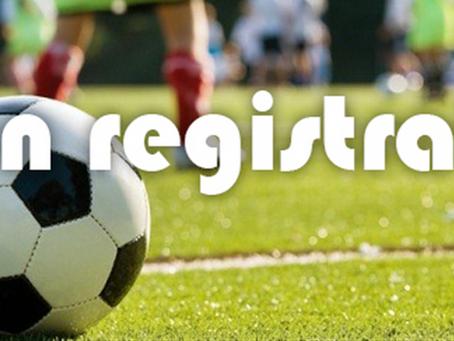 Registrations now open - register for the 2020 season