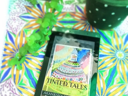 Book Review : TINTED TALES - AN ABSOLUTE VIBRANT YARN OF ANECDOTES