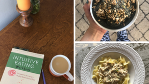 What I Eat in a Day: Early Spring