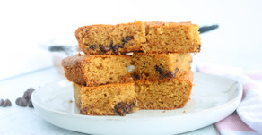 Recipe: Cakey Almond Flour Blondies