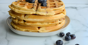 Make-Ahead Breakfast: Freezer Waffles (3 ways)
