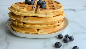 Make-Ahead Breakfast: Freezer Waffles (3 ways)