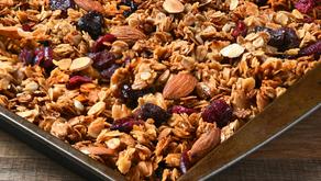 Healthy Mama Healthy Milk: Vanilla Almond Lactation Granola