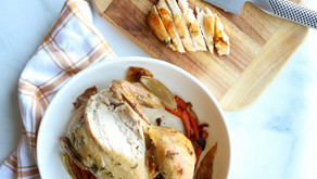 Sage Apple Roasted Chicken Recipe