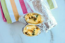 Copycat Starbucks Sun dried Tomato, Egg and Feta Wrap