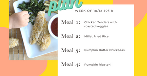 Meal Plan Monday: Week of 10/12 (recipes + meal prep)