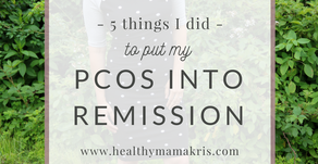 5 things I did to put my PCOS into remission