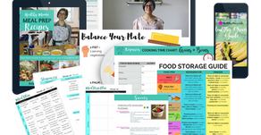 Want to feed your family nourishing, real food (every night)? Learn to meal prep and plan your way t