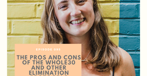 Episode 095: The Pros and Cons of the Whole30 and other elimination protocols with Dana Monsees, LDN