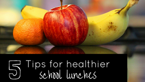 5 Tips for Healthier School Lunches