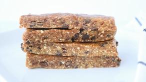 Recipe: 4-ingredient Cookie Dough Energy bars