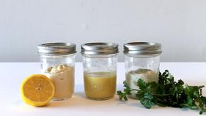 Make it Homemade: 3 Favorite Salad Dressings