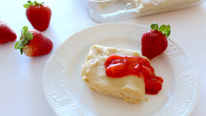 RECIPE + GIVEAWAY Cashew Cream Bars with strawberry compote featuring Further Food Collagen