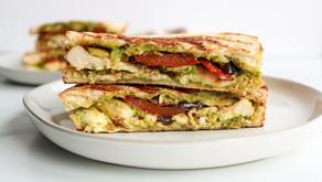The Ultimate Summer Grilled Veggie Pesto Panini