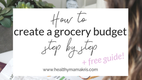 How to Create a Real Food Grocery Budget