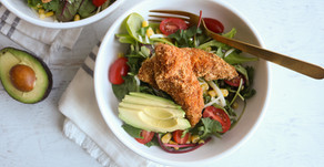 Crunchy Southwest Chicken Salad