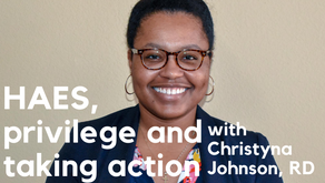 Episode 116: HAES, Thin Privilege and Taking Action on Social Justice with Christyna Johnson, RD