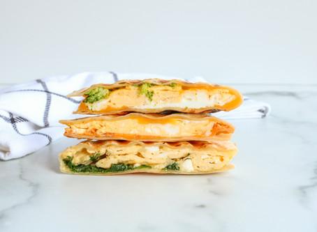 Make-Ahead Breakfast: Breakfast Quesadillas (3 ways)