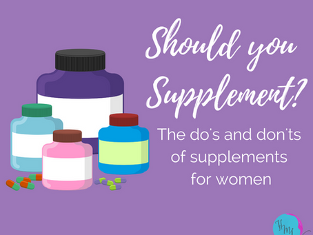 Should you Supplement?