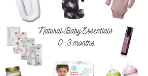 Natural Baby Essentials: 0-3 Months