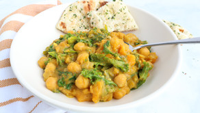 Recipe: One-pot Butternut Squash + Kale Chickpea Curry