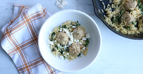 Recipe: One Pot Greek Meatballs + Orzo