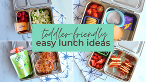 4 Easy Toddler Lunchbox Ideas