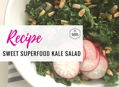 Recipe: Sweet Superfood Kale Salad