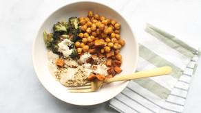 Recipe:  Roasted Chickpea Balance Bowl