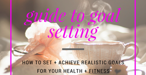 The Healthy Mama Life Guide to Goal Setting