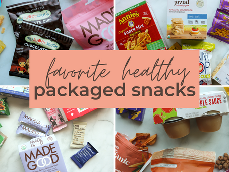 30 of the Best Packaged Kids Snacks: 2020